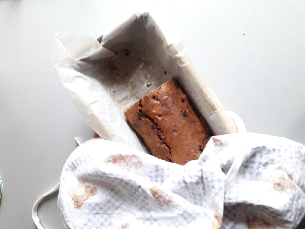 Gluténmentes datolyás kenyérke